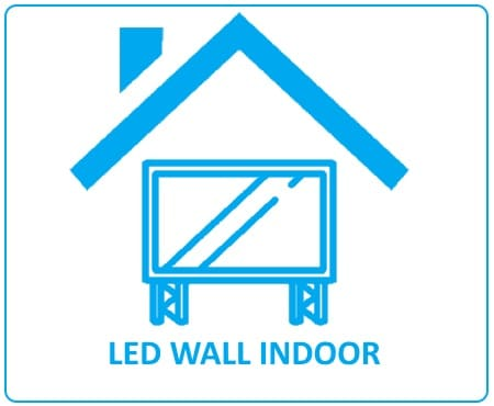 led wall indoor