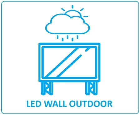 led wall outdoor